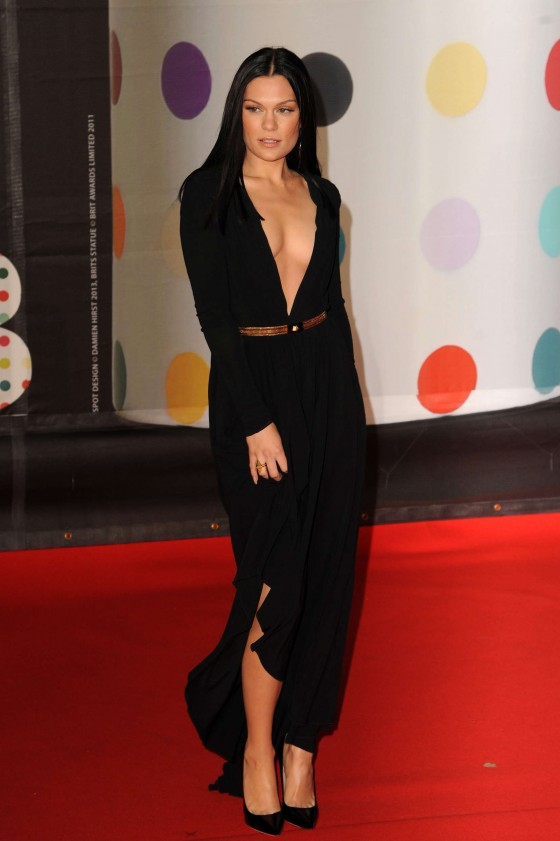 Jessie J at Brit Awards 2013 -03
