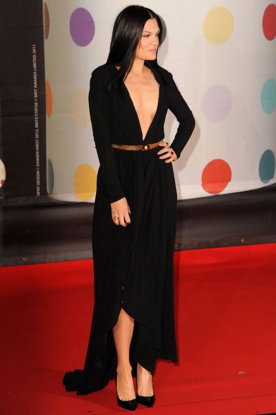 Jessie J at Brit Awards 2013 -06