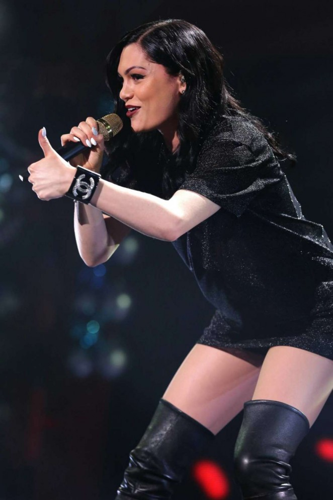 Jessie J - 93.3 FLZ's Jingle Ball 2014 in Tampa