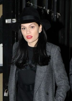 Jessie J - Performs at Camden Market in North London