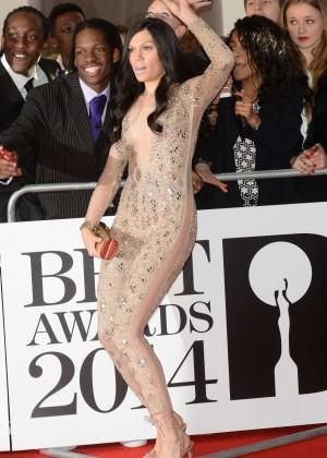 Jessie J: BRIT 2014 Awards Photos -01