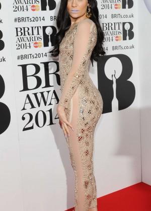Jessie J: BRIT 2014 Awards Photos -02