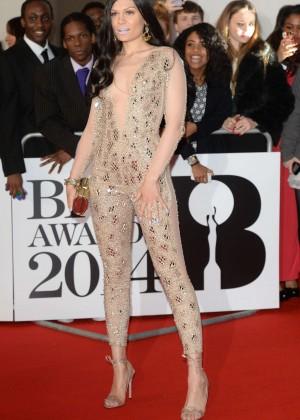 Jessie J: BRIT 2014 Awards Photos -03