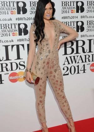 Jessie J: BRIT 2014 Awards Photos -04
