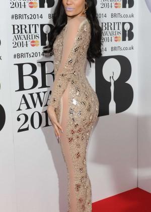 Jessie J: BRIT 2014 Awards Photos -05
