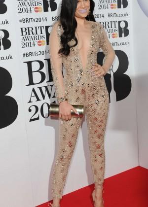 Jessie J: BRIT 2014 Awards Photos -06