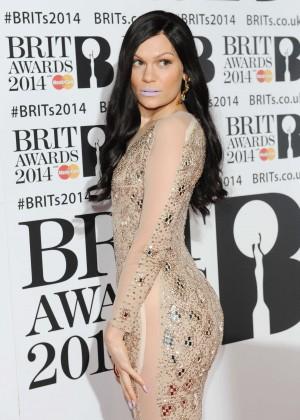 Jessie J: BRIT 2014 Awards Photos -07