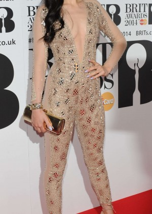 Jessie J: BRIT 2014 Awards Photos -08