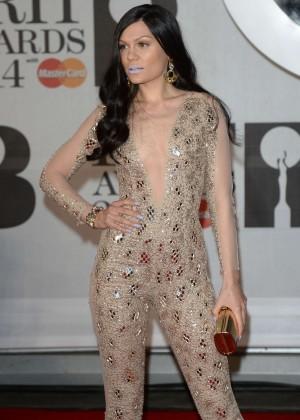 Jessie J: BRIT 2014 Awards Photos -11