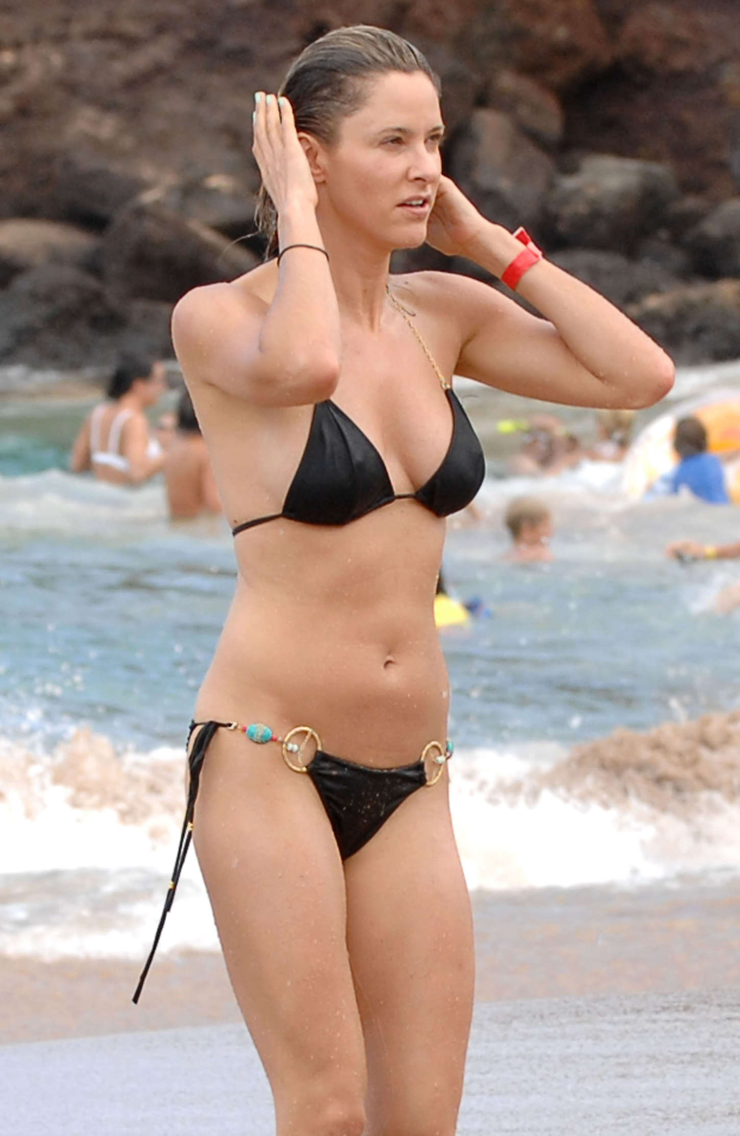 sexy jill wagner at beach