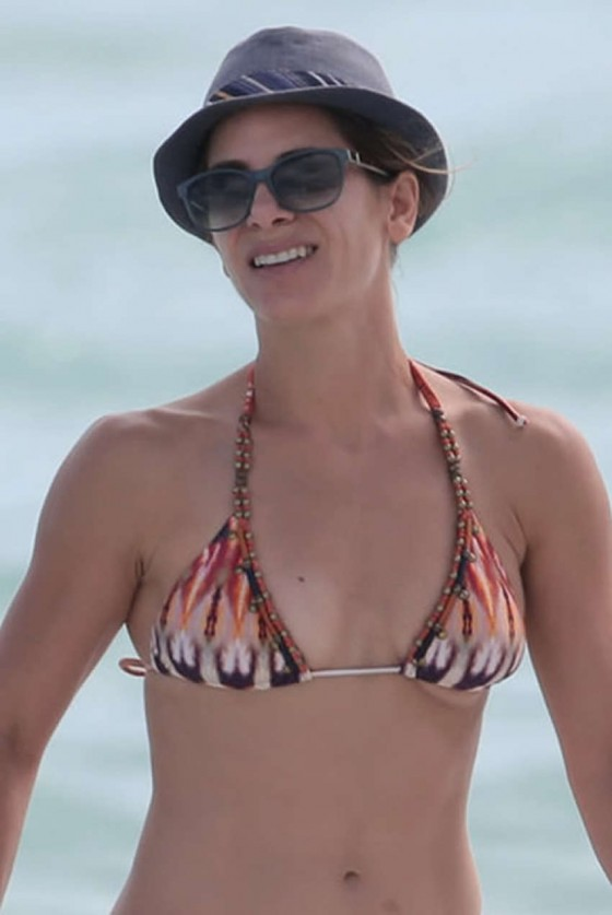 Jillian Michaels Bikini Photos: Miami -06
