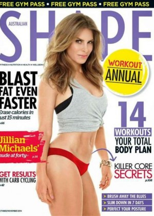 Jillian Michaels - Shape Australia Magazine Cover (November 2014)