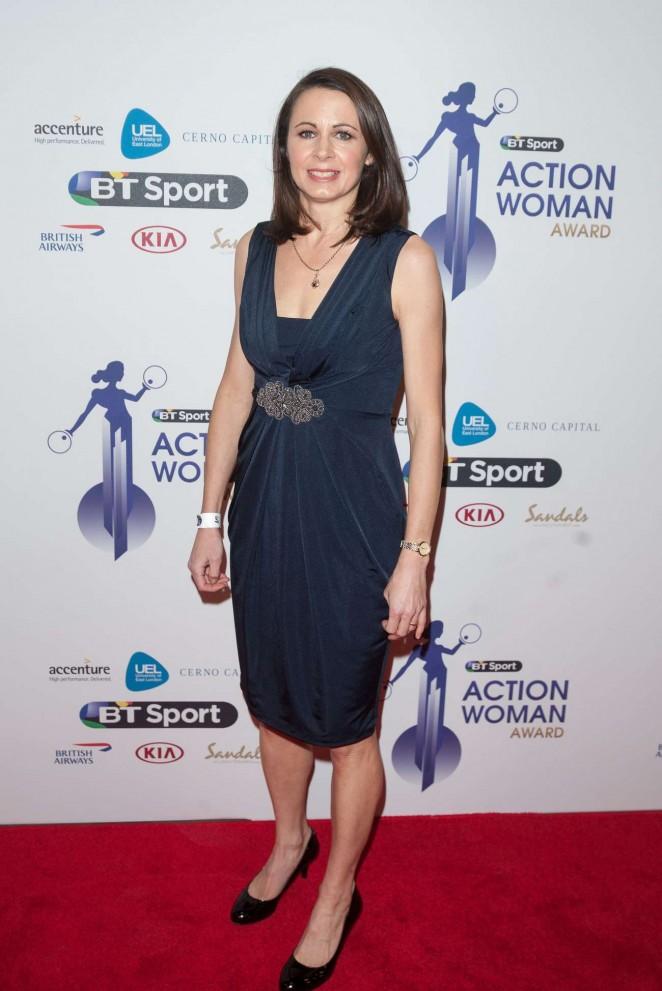 Jo Pavey - BT Sport Action Woman Awards in London
