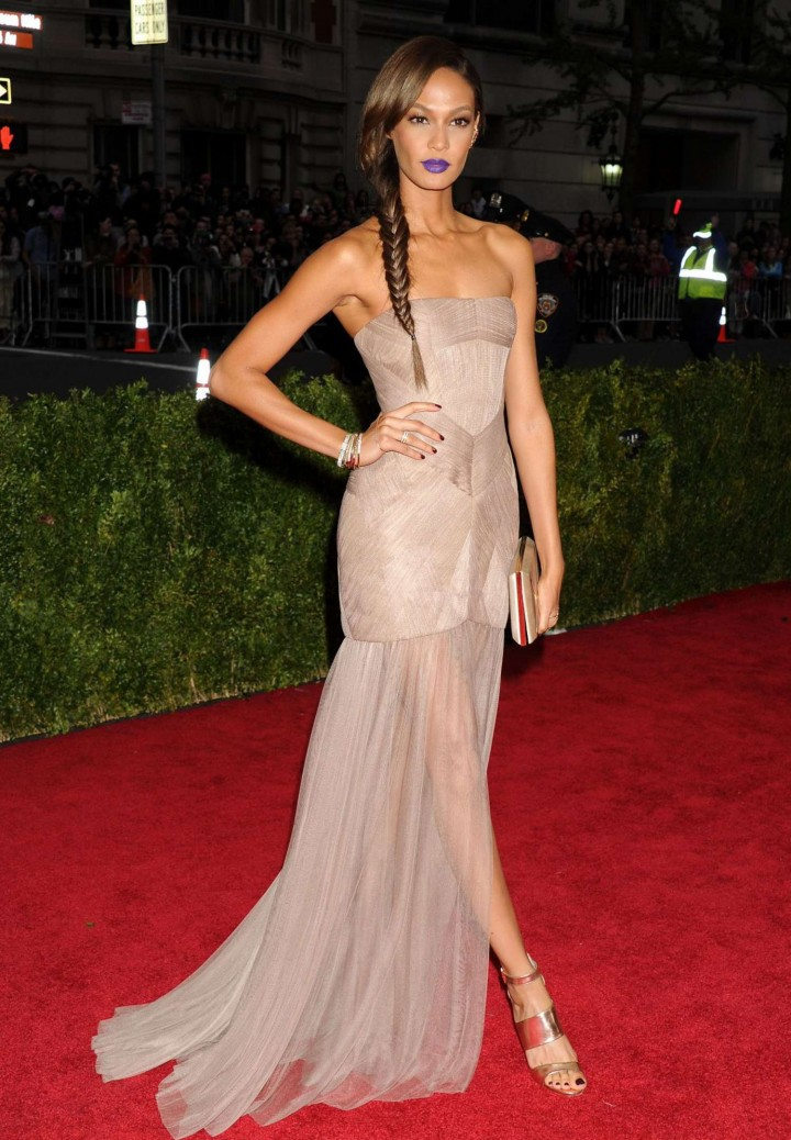 Joan Smalls – 2014 Met Gala in NY