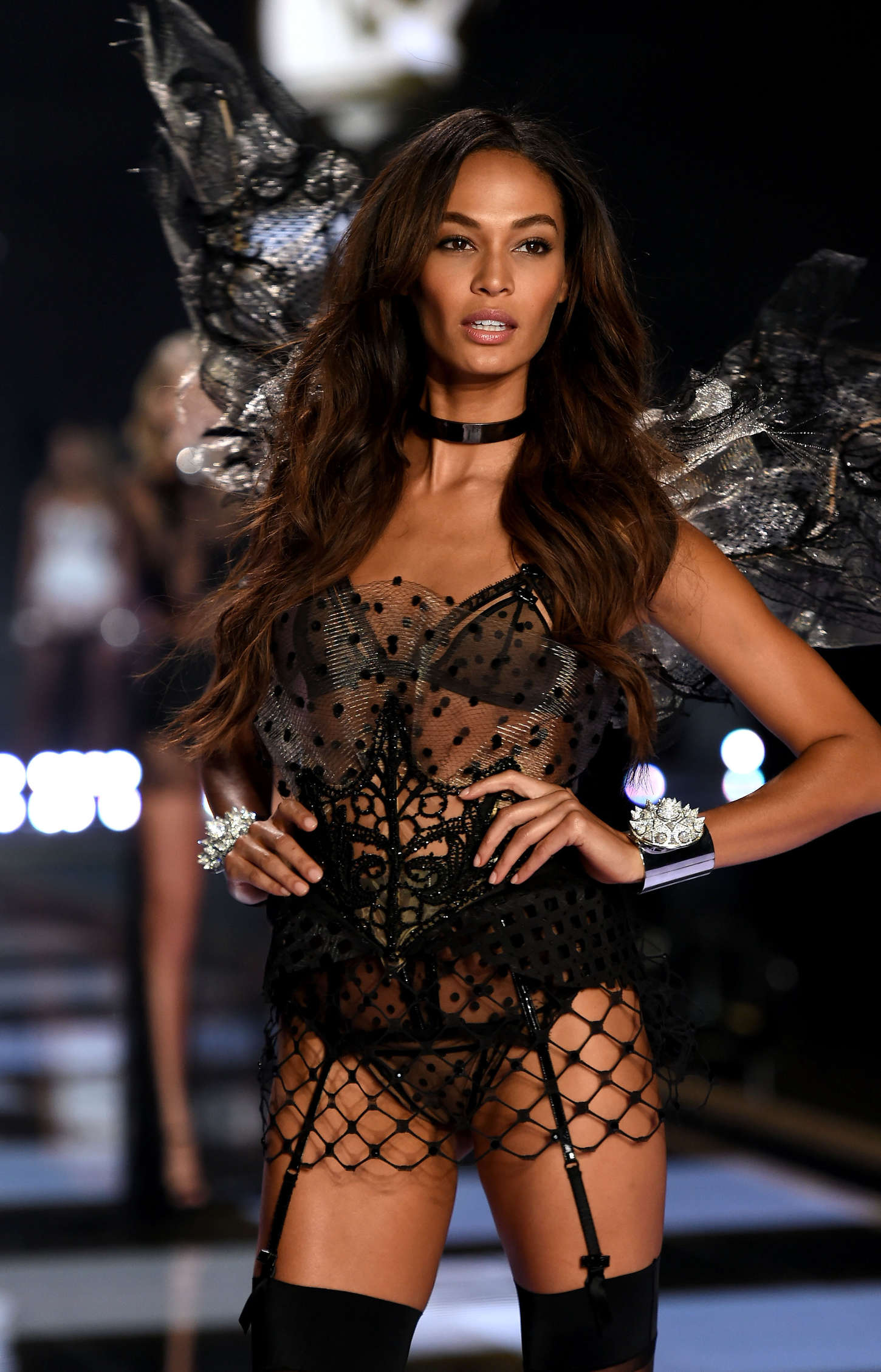 Joan Smalls 2014 Victoria S Secret Fashion Show Runway