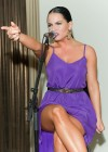 Joanna JoJo Levesque pretty in purple dress at Sexy Single Concert-01