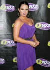 Joanna JoJo Levesque pretty in purple dress at Sexy Single Concert-02