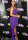 Joanna JoJo Levesque pretty in purple dress at Sexy Single Concert-04