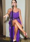 Joanna JoJo Levesque pretty in purple dress at Sexy Single Concert-06