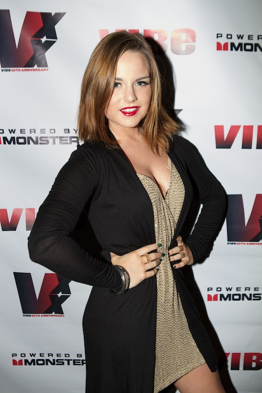 Joanna JoJo Levesque Photos  2013 VIBE 20th Anniversary party in NY    Jojo Levesque 2013