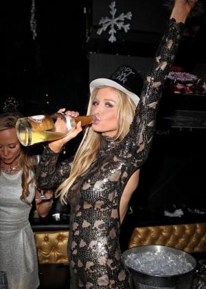 Joanna Krupa in Tight Dress at Mynt Club -04