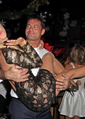 Joanna Krupa in Tight Dress at Mynt Club -08