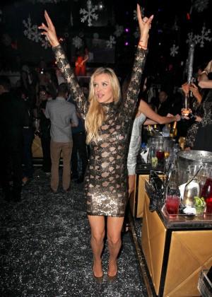 Joanna Krupa in Tight Dress at Mynt Club -15