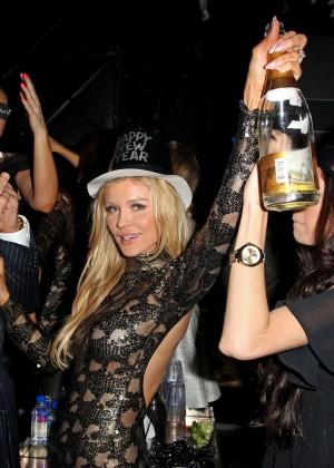 Joanna Krupa in Tight Dress at Mynt Club -16