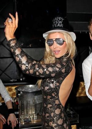 Joanna Krupa in Tight Dress at Mynt Club -27