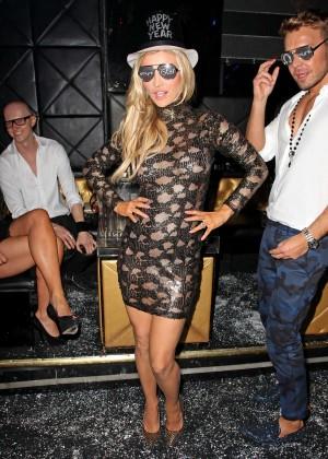 Joanna Krupa in Tight Dress at Mynt Club -32