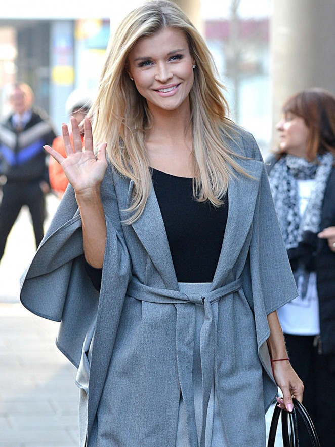 Joanna Krupa - Heads to TVN Studios in Warsaw