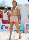 Joanna Krupa - Beach Volleyball Tournament in Miami-17