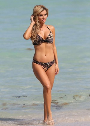 Joanna Krupa Bikini Photos: 2014 in Miami -01