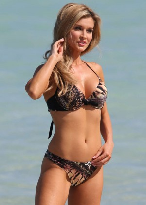 Joanna Krupa Bikini Photos: 2014 in Miami -04