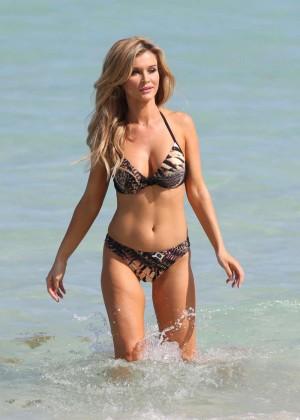 Joanna Krupa Bikini Photos: 2014 in Miami -05