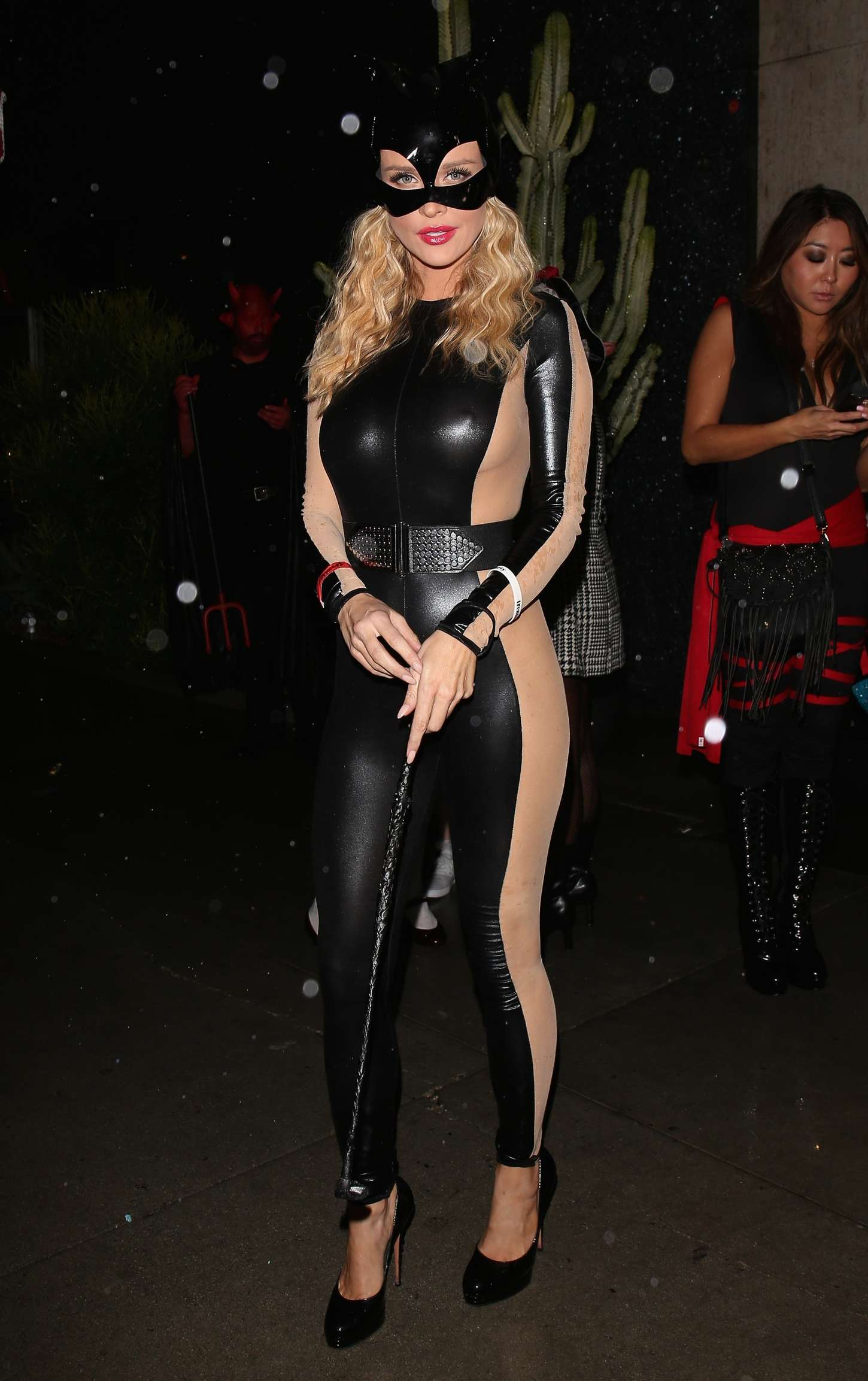 joanna krupa halloween party 2014 - Halloween Parties In Hollywood