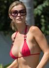 Joanna Krupa Bikini Top Photos: Miami 2013 -04