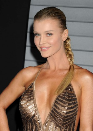 Joanna Krupa in gold dress -01