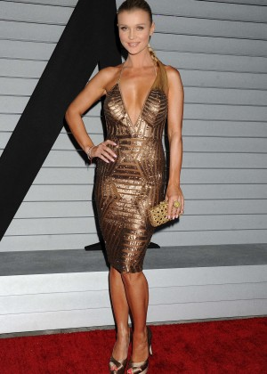 Joanna Krupa in gold dress -03