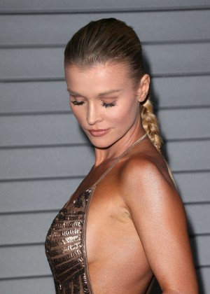 Joanna Krupa in gold dress -09