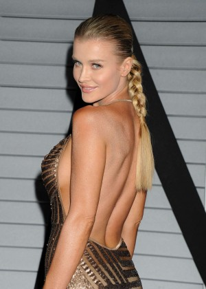 Joanna Krupa in gold dress -11