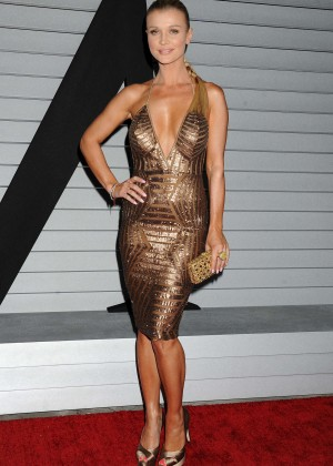 Joanna Krupa in gold dress -14