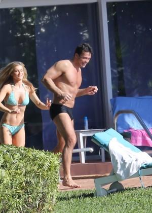 Joanna Krupa hot in a bikini in Miami -02