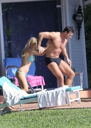 Joanna Krupa hot in a bikini in Miami -13