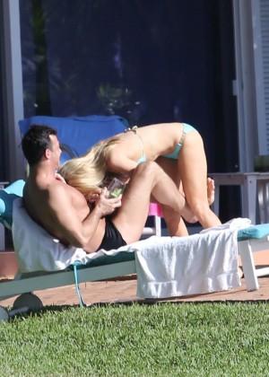 Joanna Krupa hot in a bikini in Miami -25