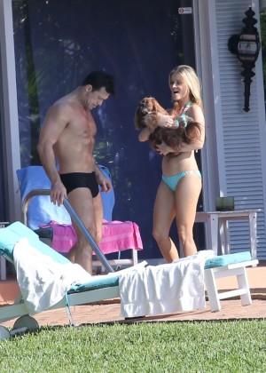 Joanna Krupa hot in a bikini in Miami -27