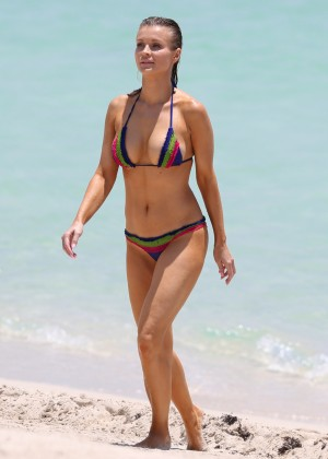 Joanna Krupa in bikini in Miami-10