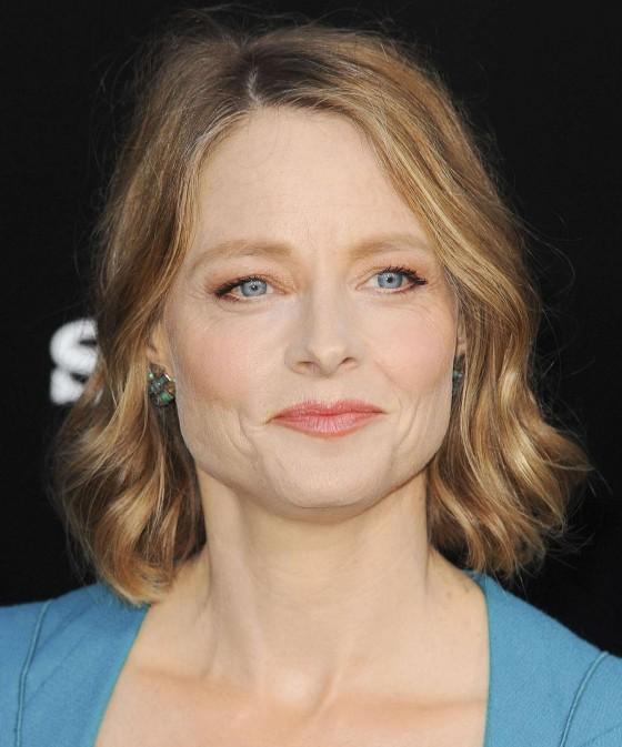 Jodie Foster at Film Premiere of Elysium -06