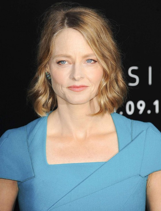 Jodie Foster at Film Premiere of Elysium -07