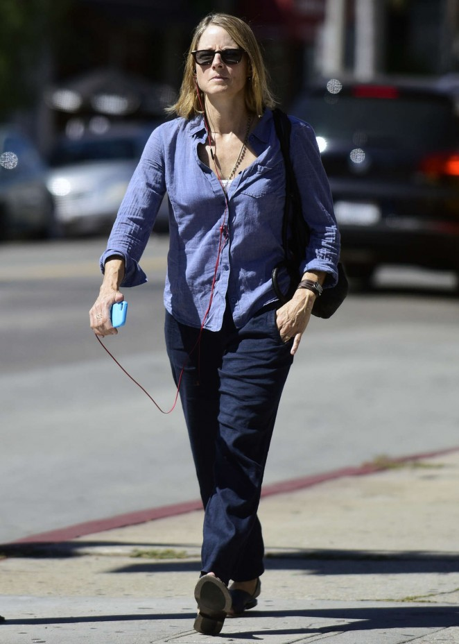 Jodie Foster – out and about in West Hollywood